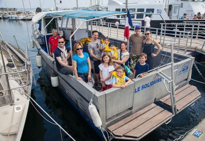 Sortie Mer : Balade en Solidaire avec la SLV Gardanne