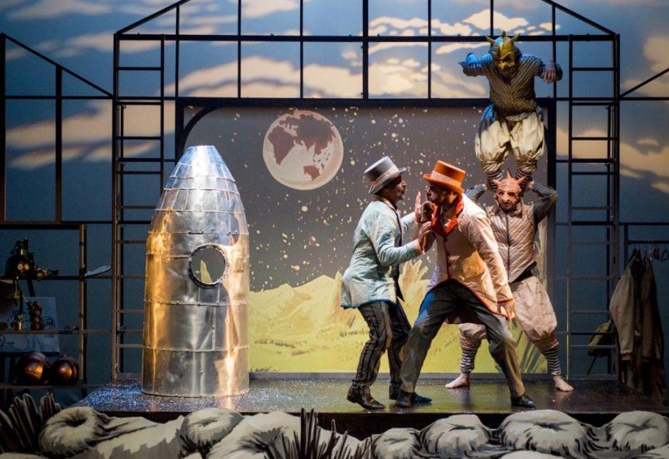 Théâtre jeune public : Les voyages fantastiques de Jules Verne à Meliès