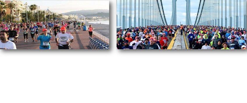 Les marathoniens de la section Running !