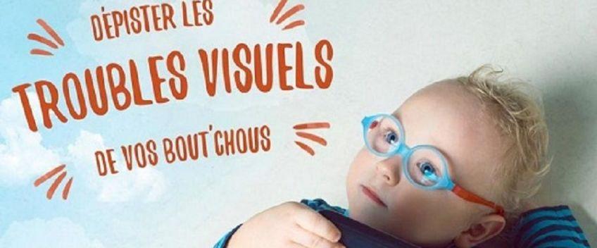 Dépistages des troubles visuels de l'enfant