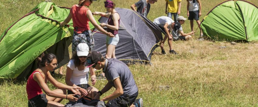 Séjour 15 -17 ans : Construis ton aventure collective !