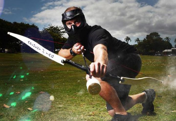 Journée Paintball / Dart-foot & Archery-Tag