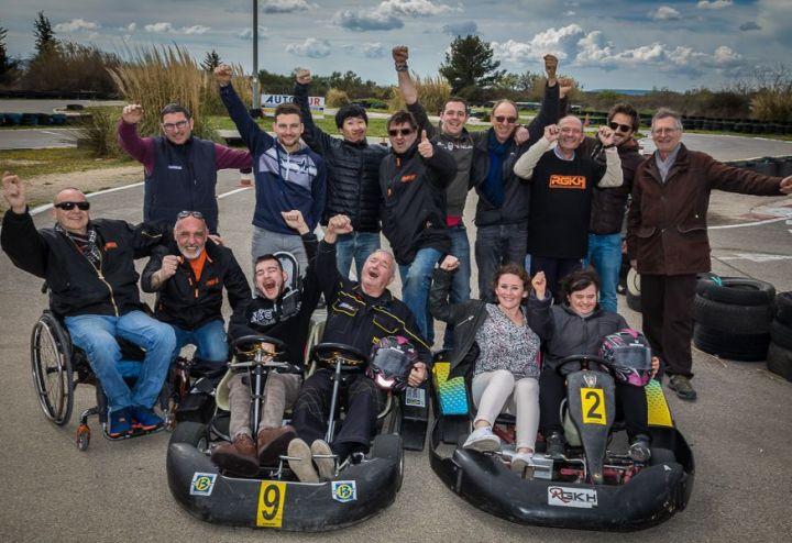 Journée Karting