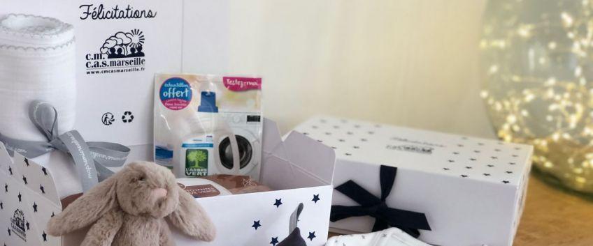 Plaisir d'offrir, joie de recevoir : Colis naissance & adoption