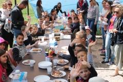 Journée familiale à Roussargues. © Marina Jonquieres