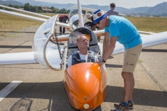Journée découverte des sports aériens avec la Slv Calanques. ©Éric Raz/Cmcas Marseille