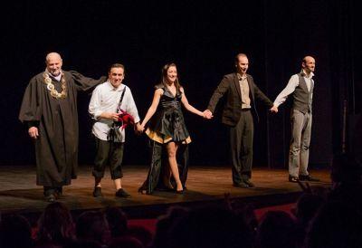 Théâtre : L'éloge de la folie ou les confidences de Moria